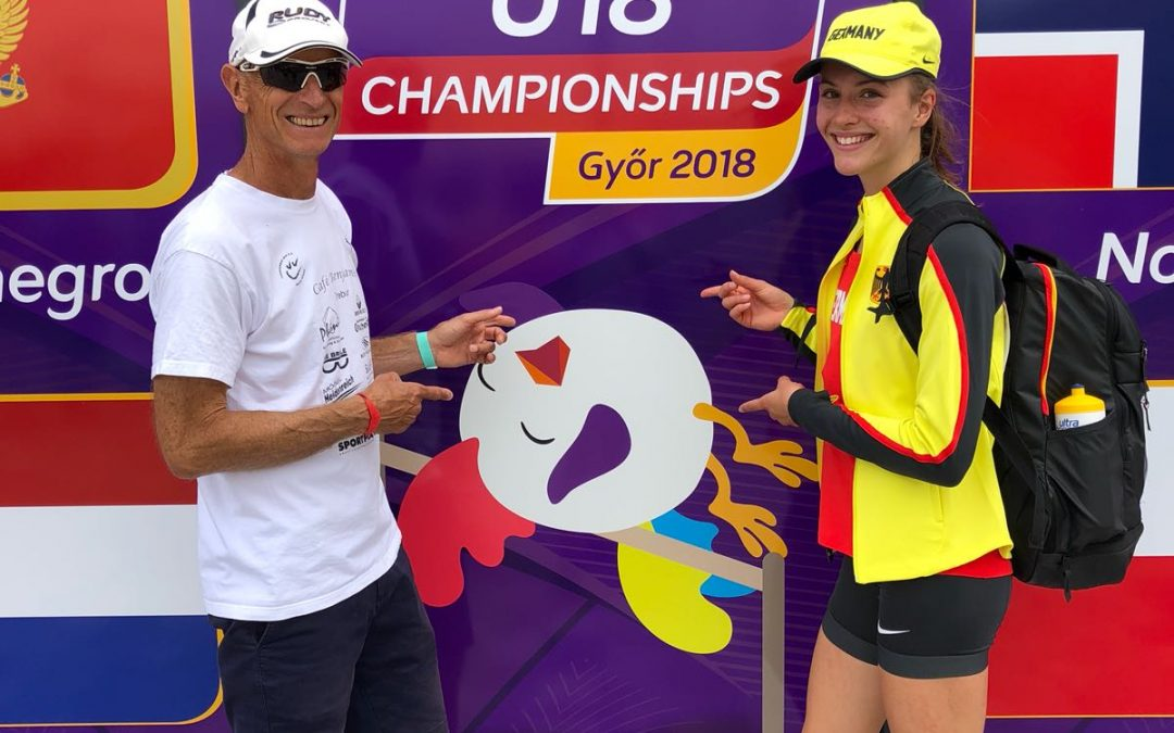 Für Jenna Fee Feyerabend geht's im Herbst zur Jugend-Olympiade in Argentinien