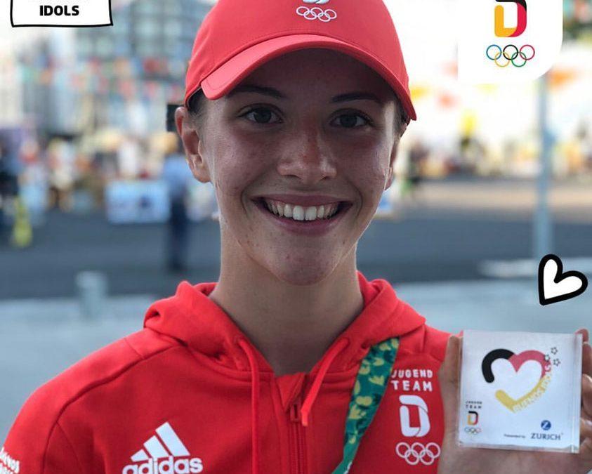 Jenna Fee Feyerabend sensationell Fünfte bei Olympischen Jugendspielen